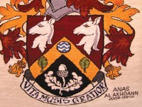 HASLEMERE COAT OF ARMS RUG