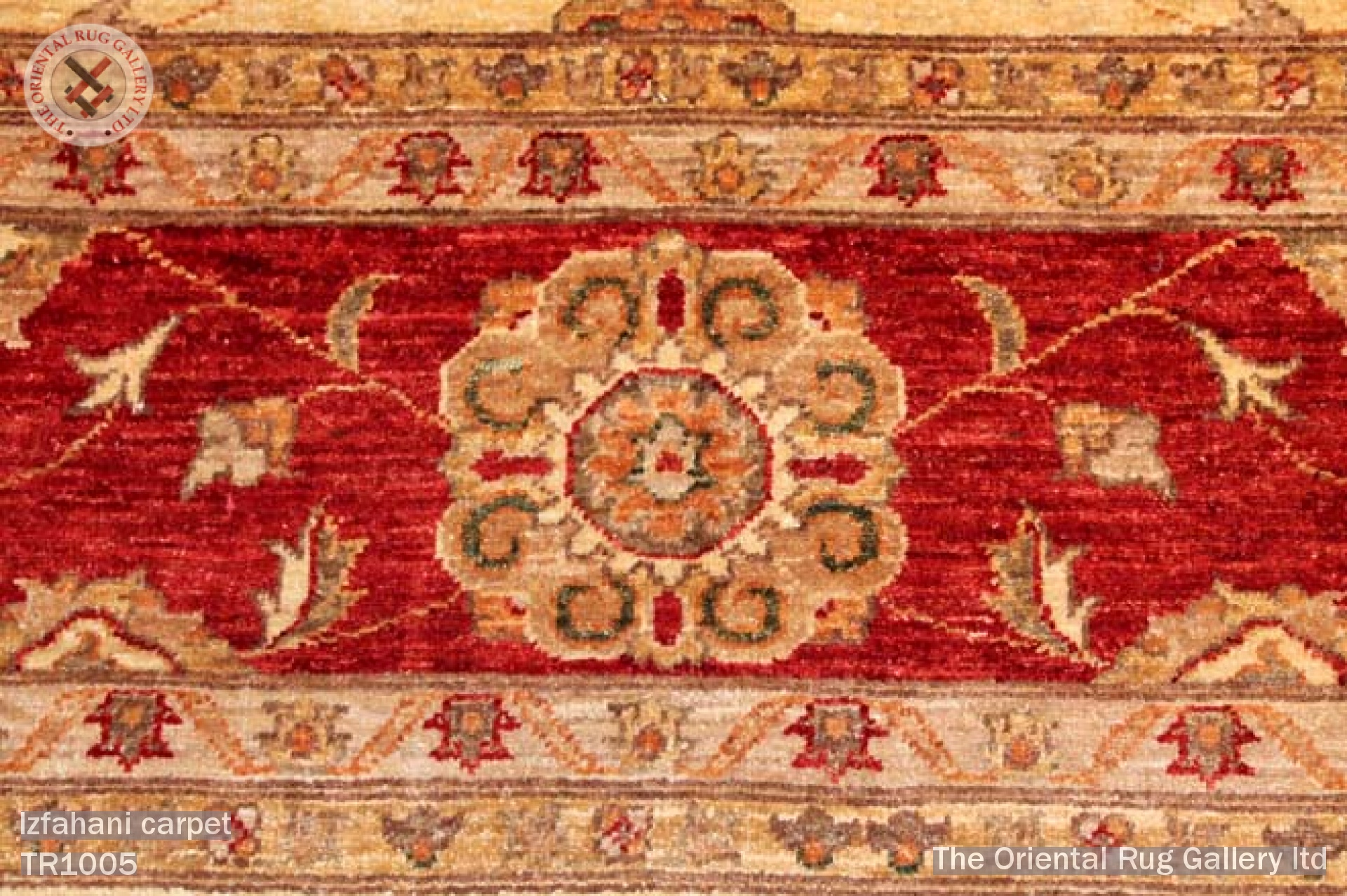 THE ORIENTAL RUG GALLERY LTD • RUGS & CARPETS GALLERY - Izfahani carpet - E Persia Afghanistan